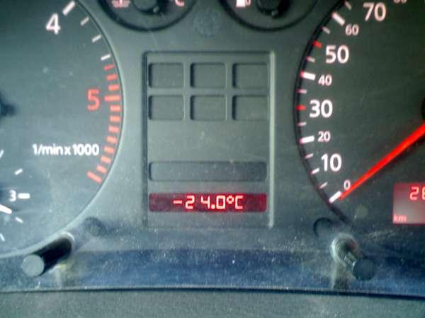 audi a4 b5 не показывает температуру воздуха