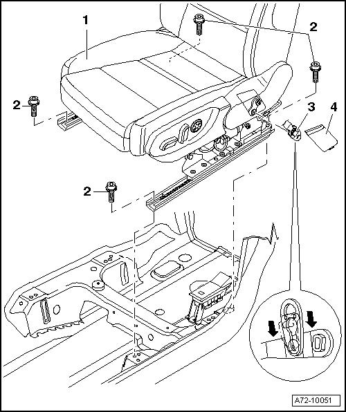 audi a4 b7 распиновка подогрева водительского сидения
