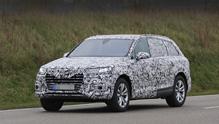 ������� ��������� Audi Q7 ������ ������� �������� �� Cayenne