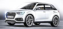 ����� ��������� Audi Q1 ���������� � ��������� ����