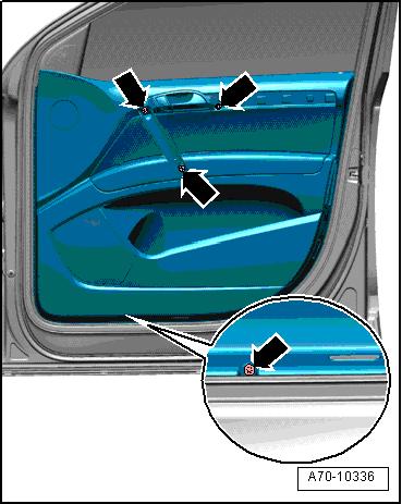 как снять обшивку передних дверей на audi a4 b5