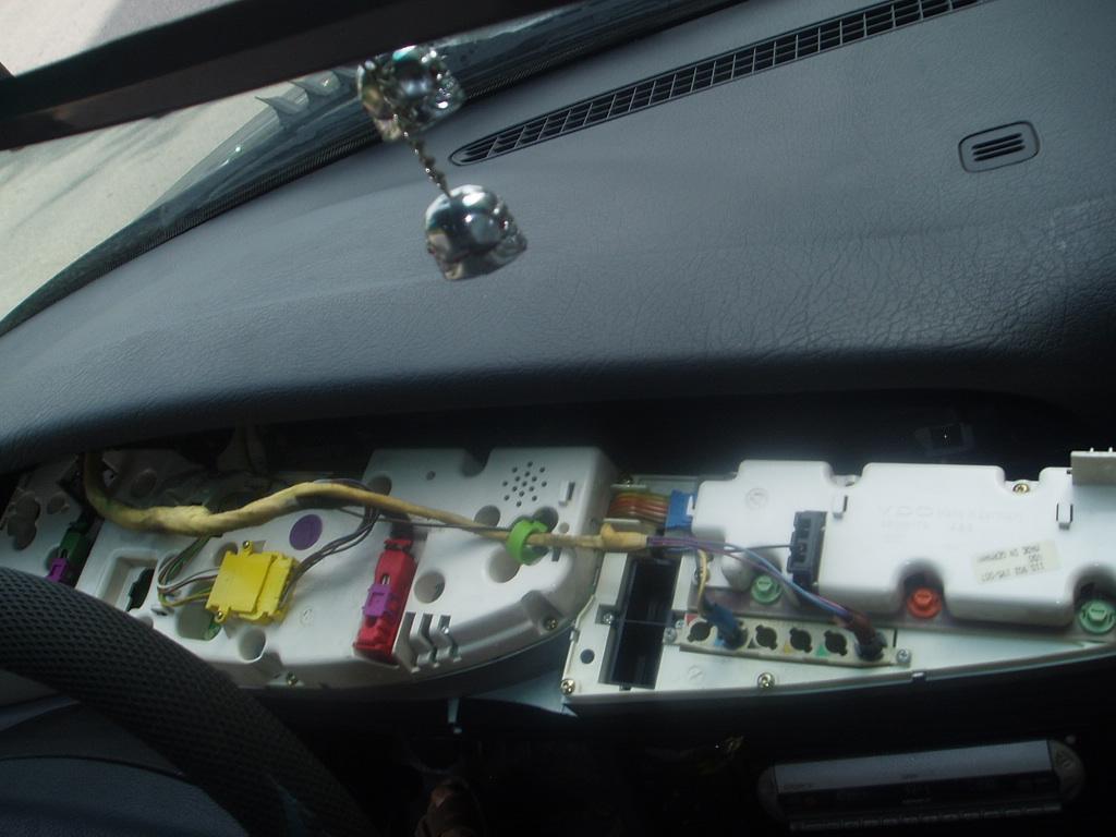 схема панель приборов ауди а6 в с4 кузове