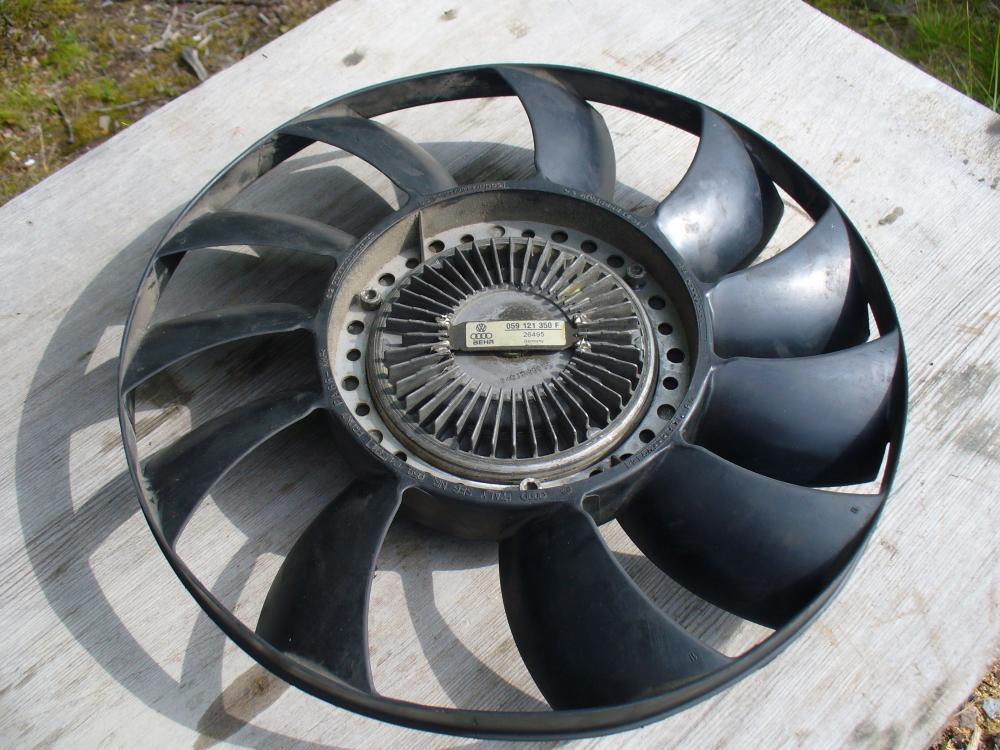 audi 2-5 tdi вискомуфта 2003 год вентилятор