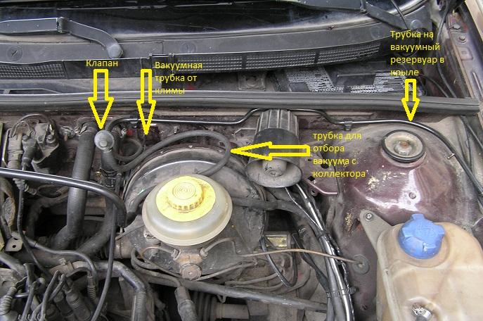 80 В4 с мотором АВС.