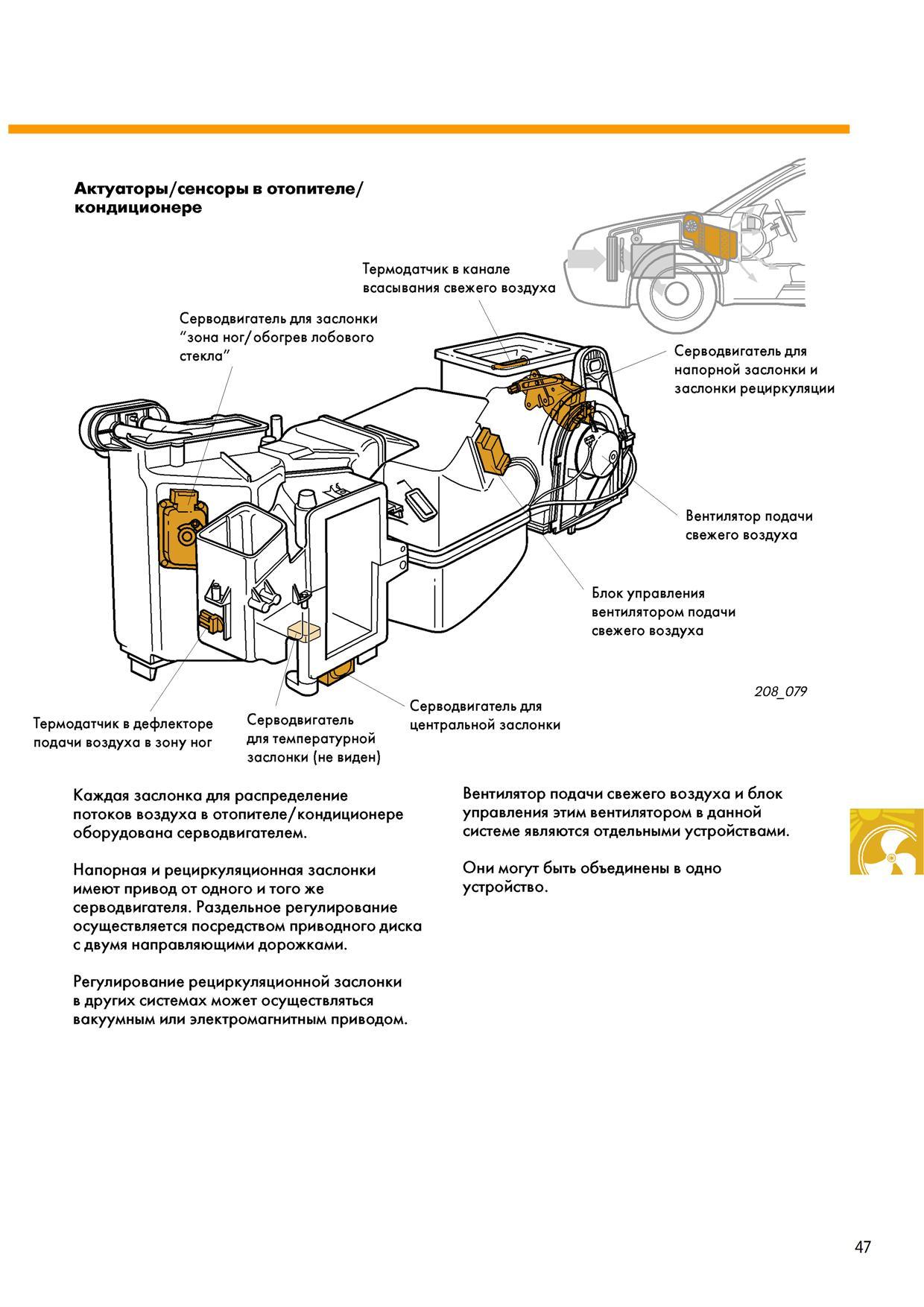 схема блок управления климат-контроль ауди 100 с4