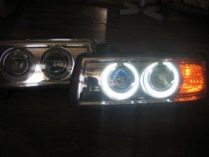 Ангельские глазки на Audi A6 | 150x200