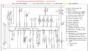 Схема подключения топливного насоса на ауди 100