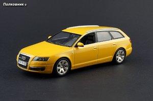 39-2005 Audi A6 C6 Avant Typ (4F) Imolagelb (Minichamps).jpg