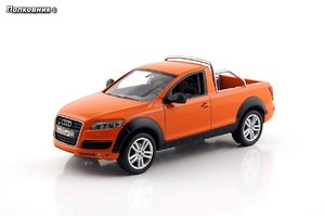 52-2006 Audi Q7 Abholen Typ (4L) Mattorange (Schuco-sk135).jpg