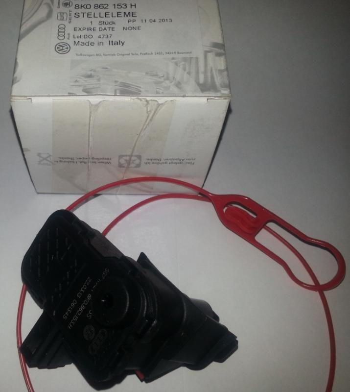 моторчик лючка бензобака - 8K0862153H