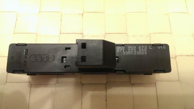 8K0959763LV10переключатель в накладку КПП (подкову) для вкл/выкл. start-stop