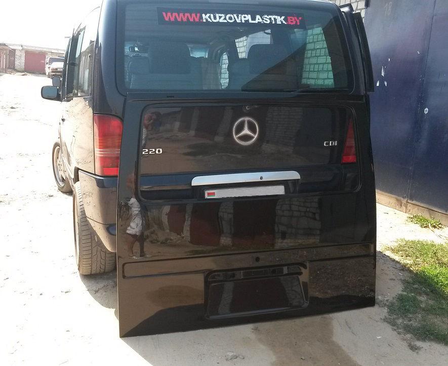 Дверь задняя форд транзит стеклопластик
