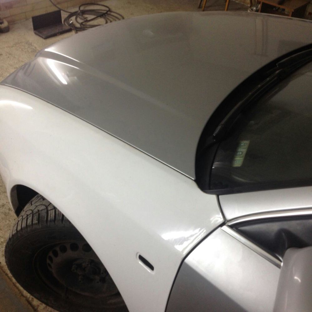 Крыло на ауди а6 с5 стеклопластик