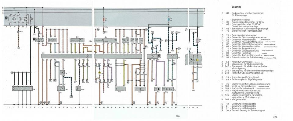 схему на AUDI 100 C4 2.5